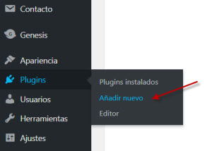 como añadir un plugin a wordpress