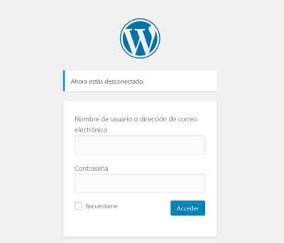 crear una pagina web - WordPress