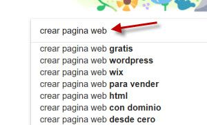 estudio de palabras clave- google suggest