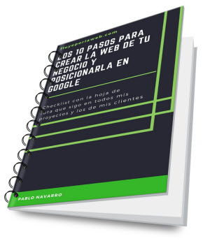 10 pasos pagina web