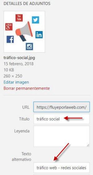 seo on page - ejemplo alt imagen