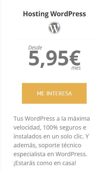 raiola mejor hosting wordpress español